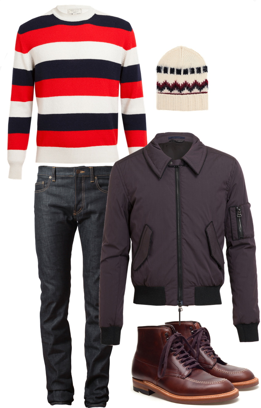 Five Fall Essentials Men 2013
