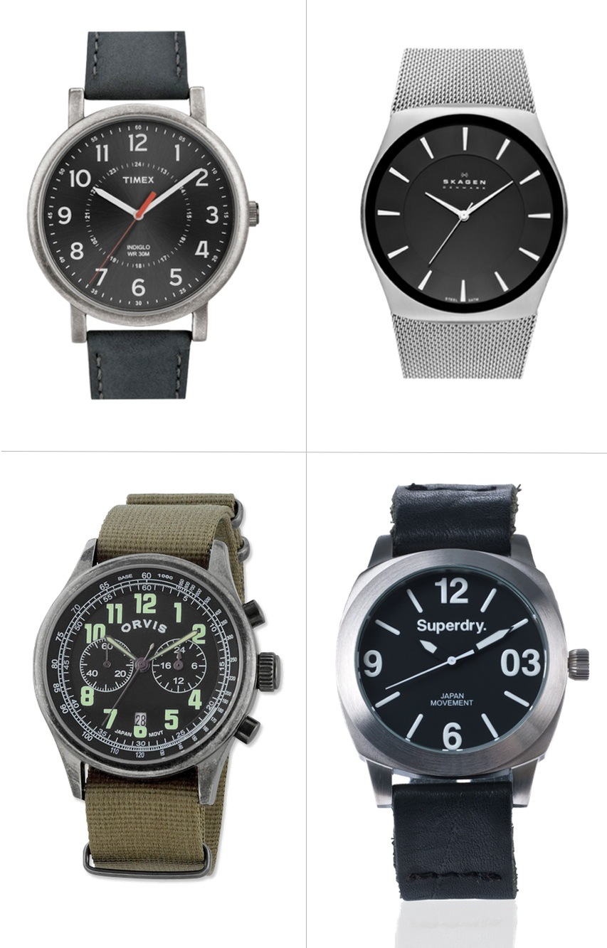 Four great watches for men