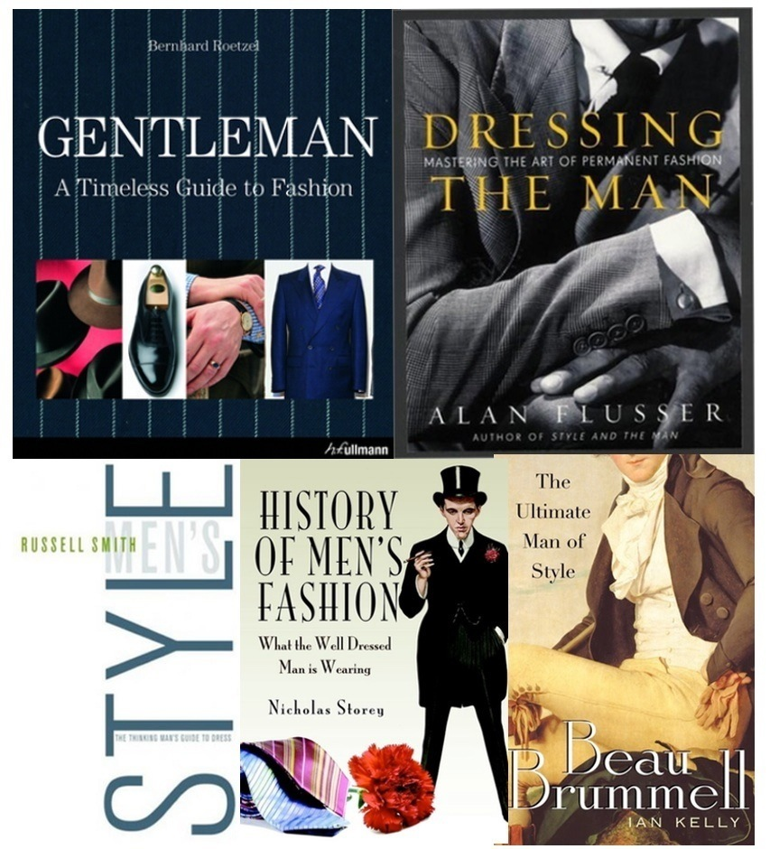 Top men style and fashion books