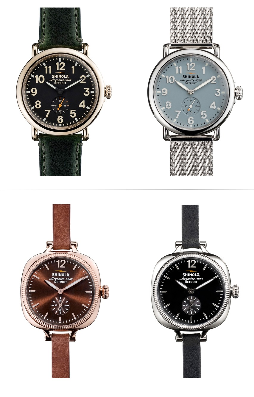 American made Shinola watches for women