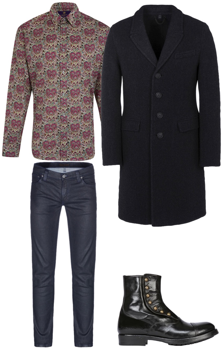 Winter Dandy outfit for men from Unique Attire