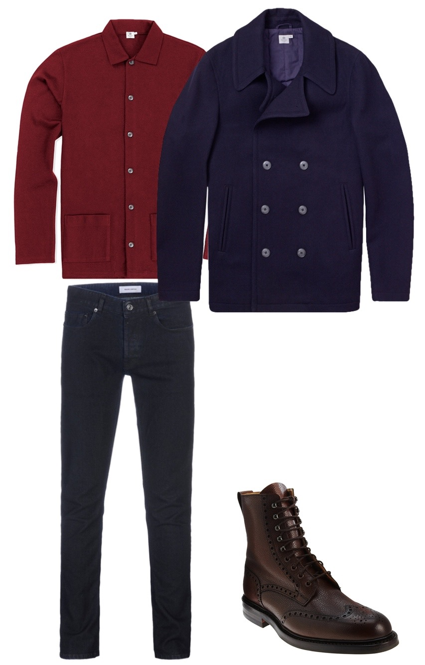 Winter Classic outfit for men